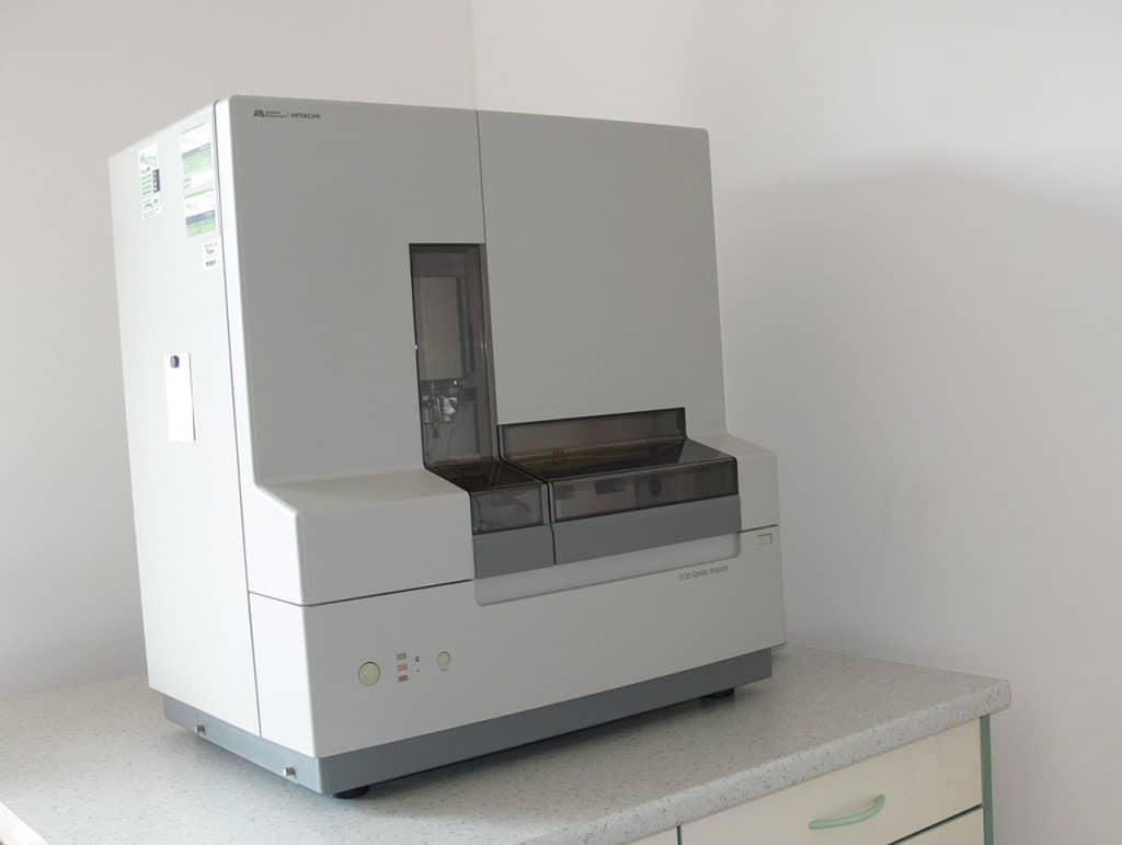 laboratoř lékařské genetiky sekvenátor