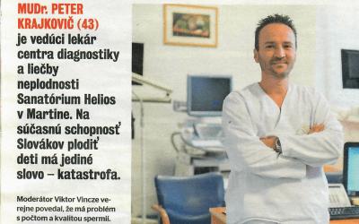 Magazín ŽIVOT – rozhovor s MUDr. P. Krajkovičem