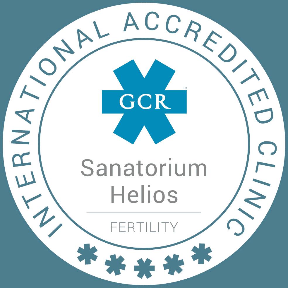 znak akreditace gcr