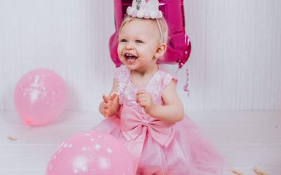 Eliška 1 rok