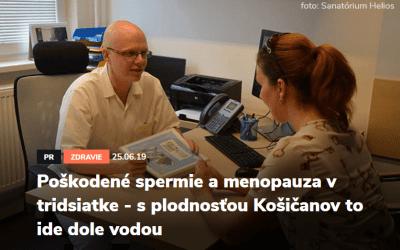 Rozhovor s lékařem Sanatoria Helios Košice